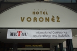 Hotel Voroněž I - main entrance